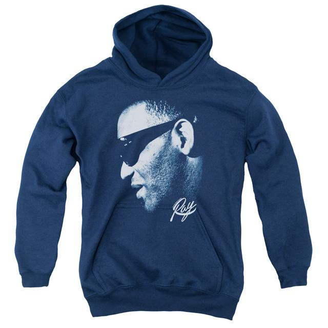 Ray Charles Youth Hoodie | BLUE RAY Pull-Over Sweatshirt