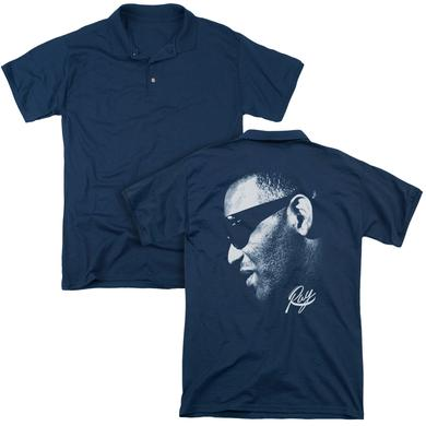 Ray Charles BLUE RAY  (BACK PRINT)