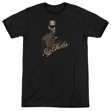 Ray Charles Shirt | THE DEEP Premium Ringer Tee