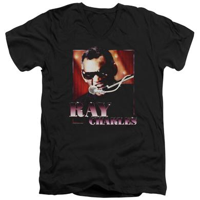 Ray Charles T Shirt (Slim Fit) | SING IT Slim-fit Tee