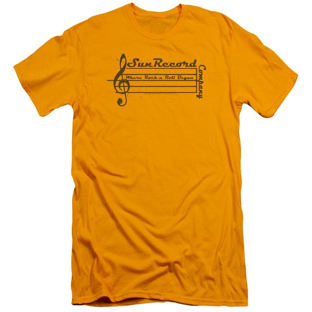 Sun Records Slim-Fit Shirt | MUSIC STAFF Slim-Fit Tee