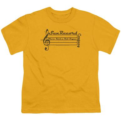 Sun Records Youth Tee | MUSIC STAFF Youth T Shirt