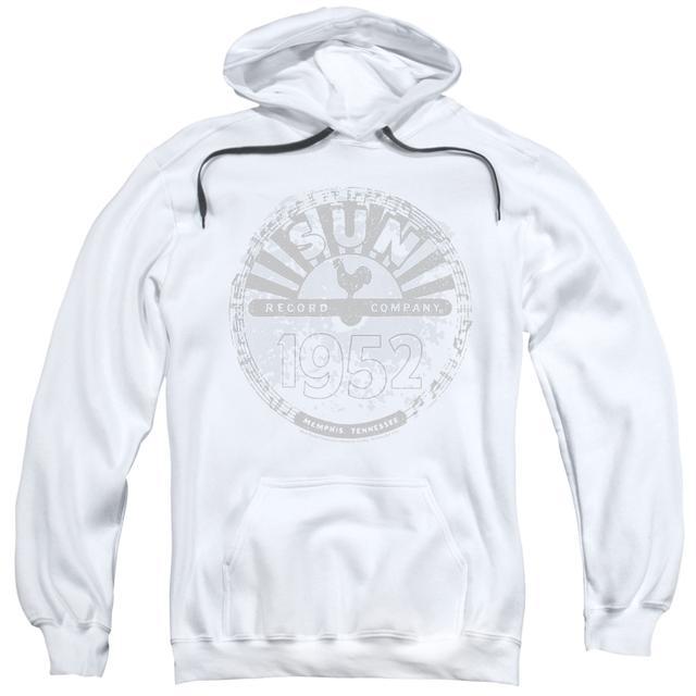 Sun Records Hoodie | CRUSTY LOGO Pull-Over Sweatshirt