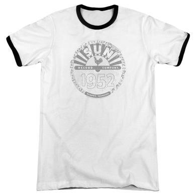Sun Records Shirt | CRUSTY LOGO Premium Ringer Tee