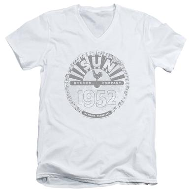Sun Records T Shirt (Slim Fit) | CRUSTY LOGO Slim-fit Tee