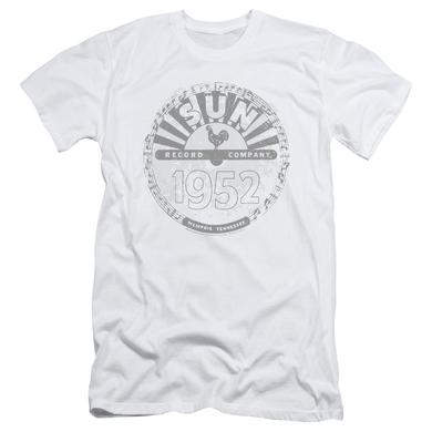 Sun Records Slim-Fit Shirt | CRUSTY LOGO Slim-Fit Tee
