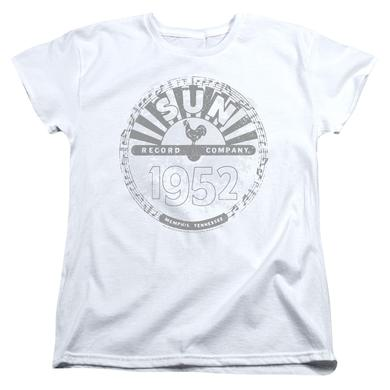 Sun Records Women's Shirt | CRUSTY LOGO Ladies Tee