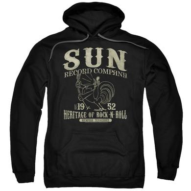 Sun Records Hoodie | ROCKABILLY BIRD Pull-Over Sweatshirt