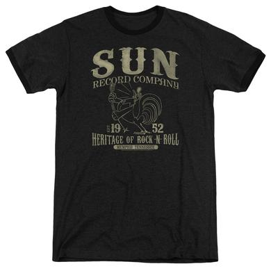 Sun Records Shirt | ROCKABILLY BIRD Premium Ringer Tee