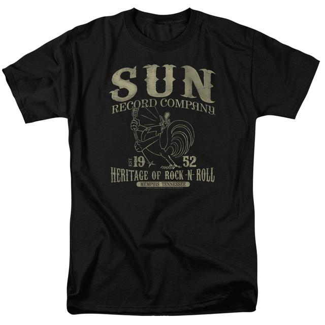 Sun Records Shirt | ROCKABILLY BIRD T Shirt
