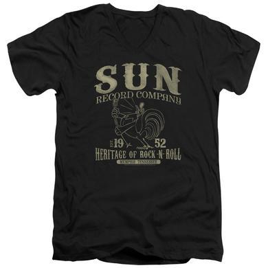 Sun Records T Shirt (Slim Fit) | ROCKABILLY BIRD Slim-fit Tee