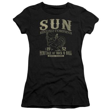 Sun Records Juniors Shirt | ROCKABILLY BIRD Juniors T Shirt