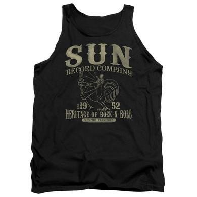 Sun Records Tank Top | ROCKABILLY BIRD Sleeveless Shirt