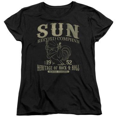 Sun Records Women's Shirt | ROCKABILLY BIRD Ladies Tee
