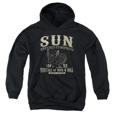 Sun Records Youth Hoodie | ROCKABILLY BIRD Pull-Over Sweatshirt