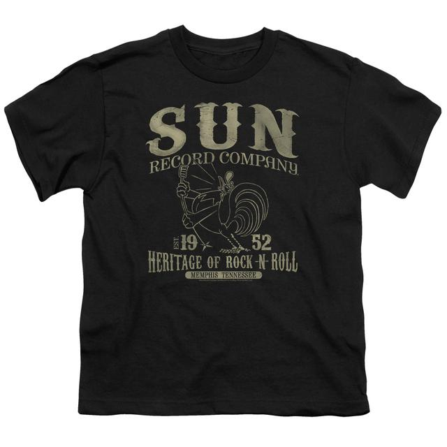 Sun Records Youth Tee | ROCKABILLY BIRD Youth T Shirt