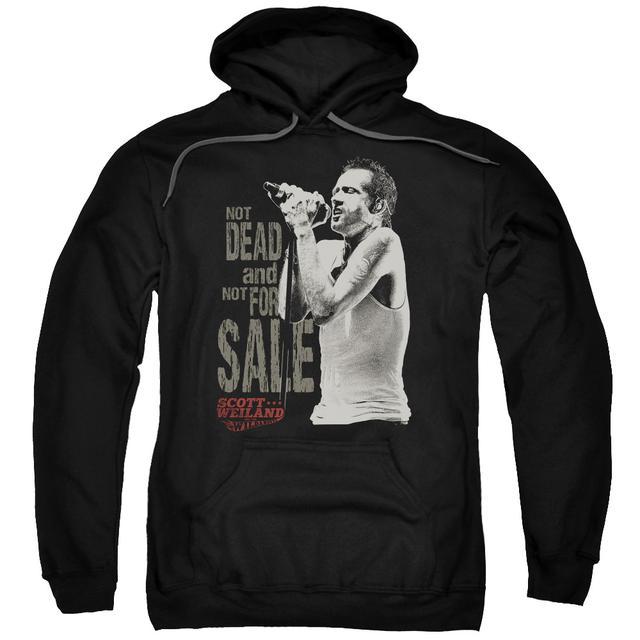 Scott Weiland Hoodie | NOT DEAD Pull-Over Sweatshirt