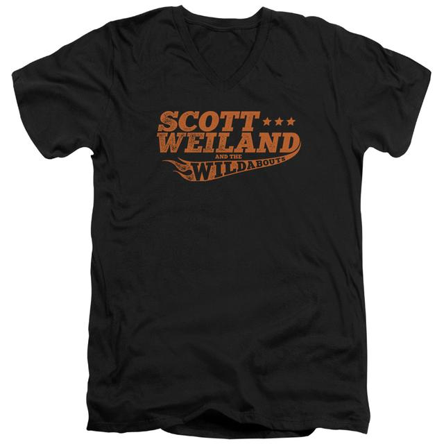 Scott Weiland T Shirt (Slim Fit) | LOGO Slim-fit Tee