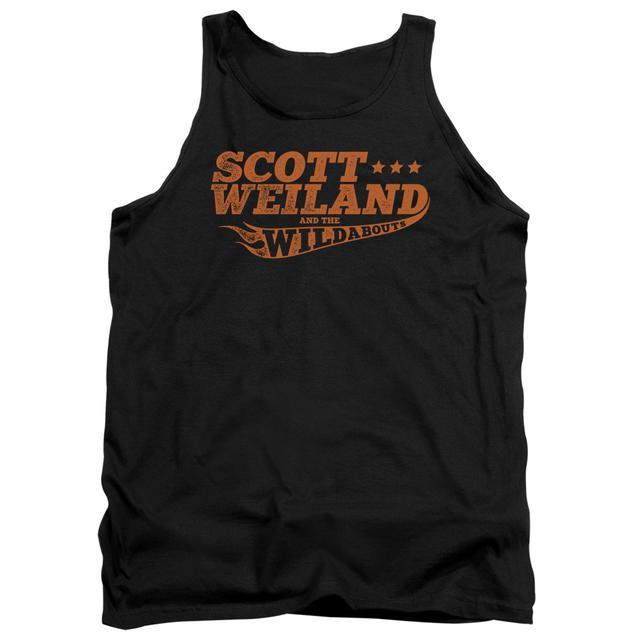 Scott Weiland Tank Top   LOGO Sleeveless Shirt