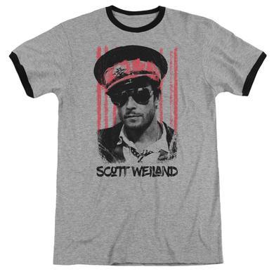 Scott Weiland Shirt | BLACK HAT Premium Ringer Tee