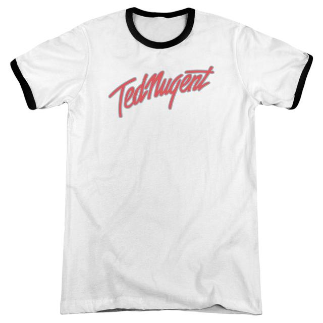 Ted Nugent Shirt | CLEAN LOGO Premium Ringer Tee