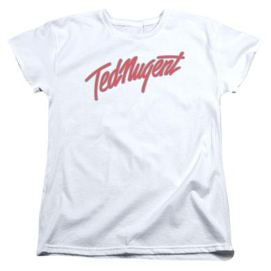 Ted Nugent Women's Shirt | CLEAN LOGO Ladies Tee