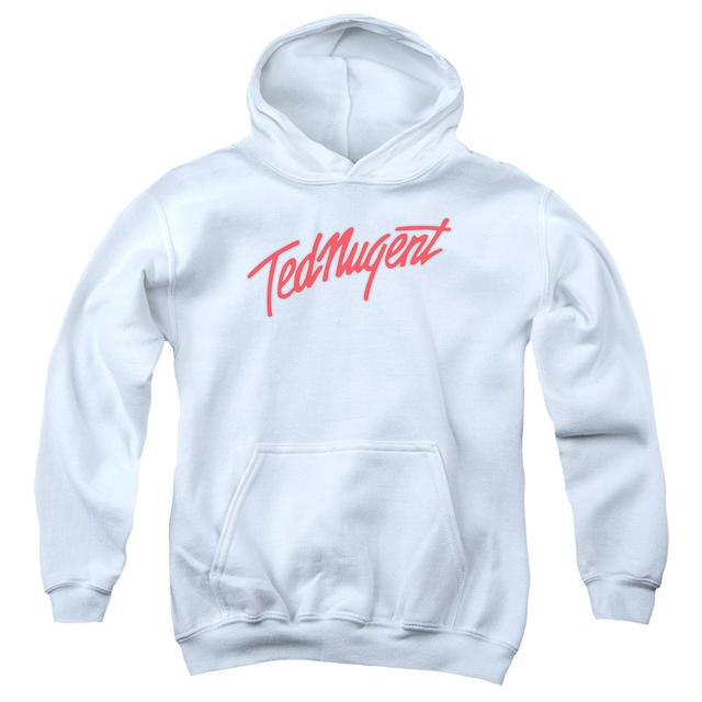 Ted Nugent Youth Hoodie | CLEAN LOGO Pull-Over Sweatshirt