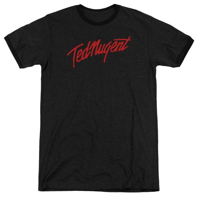 Ted Nugent Shirt | DISTRESS LOGO Premium Ringer Tee