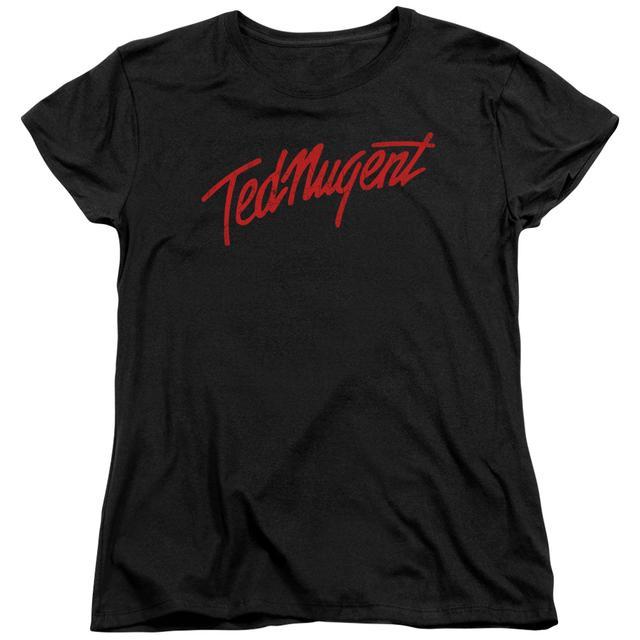 Ted Nugent Women's Shirt | DISTRESS LOGO Ladies Tee