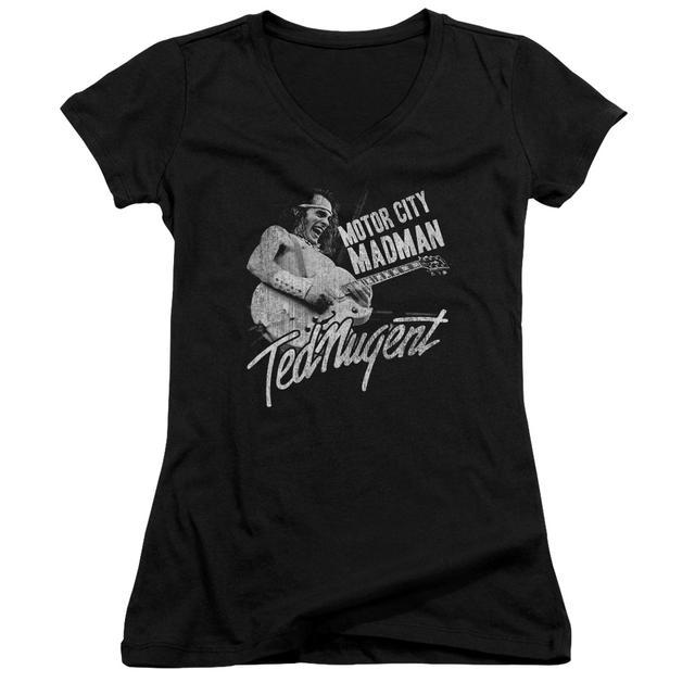 Ted Nugent Junior's V-Neck Shirt | MADMAN Junior's Tee