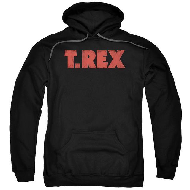 T-Rex Hoodie | LOGO Pull-Over Sweatshirt
