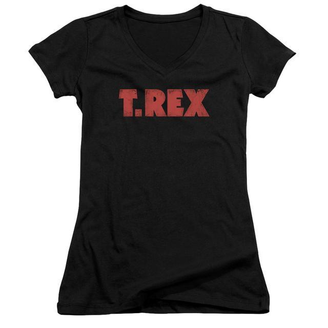 T-Rex Junior's V-Neck Shirt | LOGO Junior's Tee