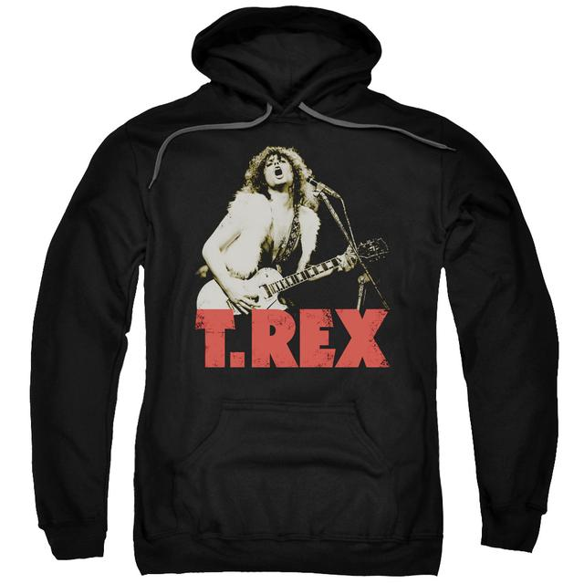 T-Rex Hoodie | ROCK ON Pull-Over Sweatshirt