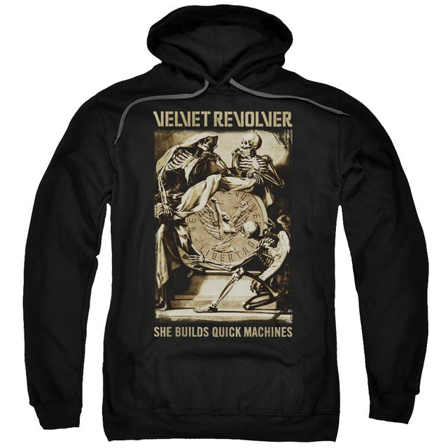 Velvet Revolver Hoodie | QUICK MACHINES Pull-Over Sweatshirt