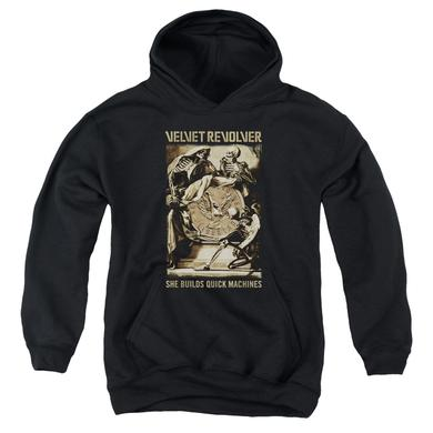 Velvet Revolver Youth Hoodie | QUICK MACHINES Pull-Over Sweatshirt