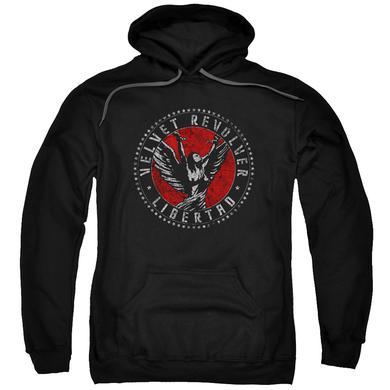 Velvet Revolver Hoodie | CIRCLE LOGO Pull-Over Sweatshirt