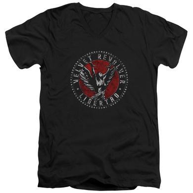 Velvet Revolver T Shirt (Slim Fit) | CIRCLE LOGO Slim-fit Tee