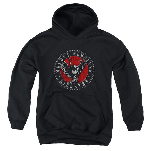 Velvet Revolver Youth Hoodie | CIRCLE LOGO Pull-Over Sweatshirt