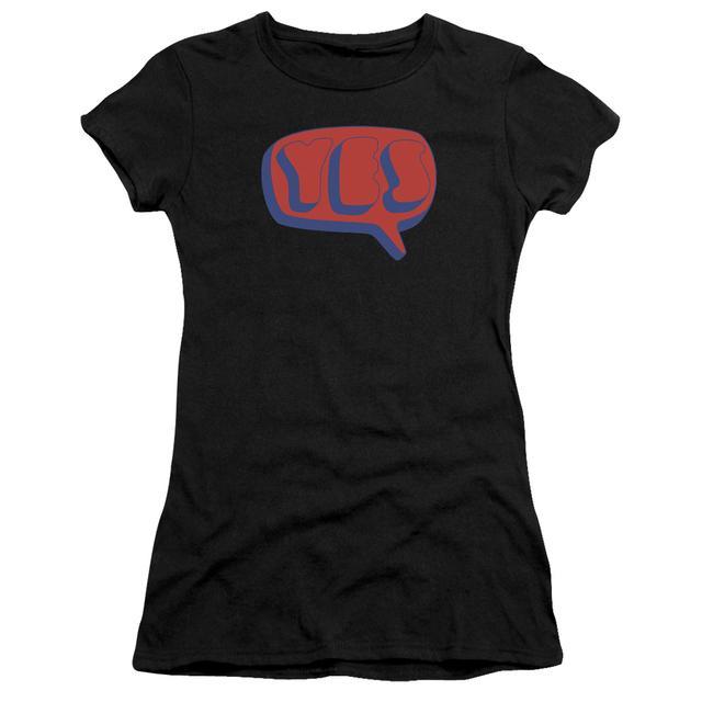 Yes Juniors Shirt   WORD BUBBLE Juniors T Shirt