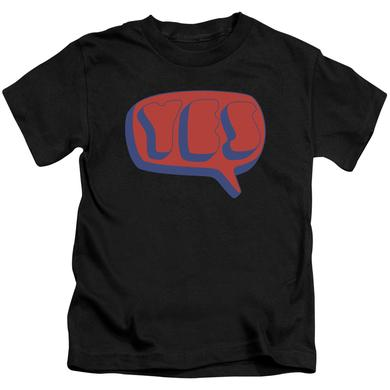 Yes Kids T Shirt | WORD BUBBLE Kids Tee