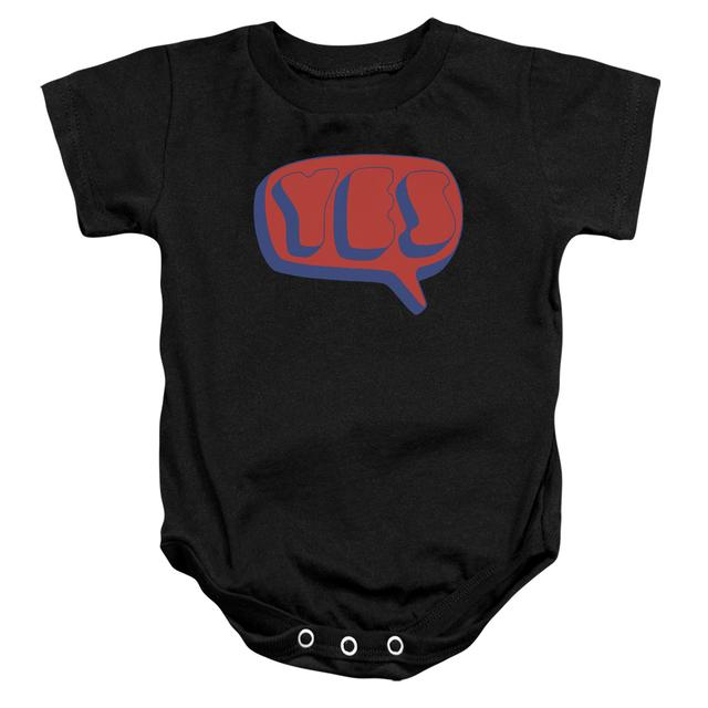 Yes Baby Onesie | WORD BUBBLE Infant Snapsuit