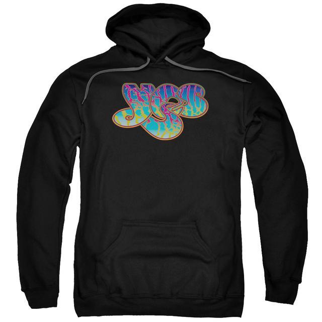 Yes Hoodie   LOGO Pull-Over Sweatshirt