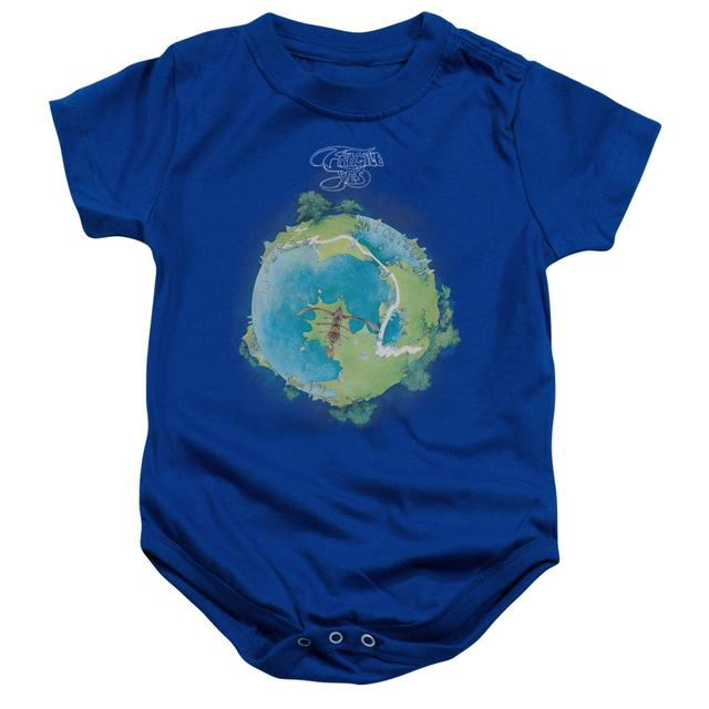 Yes Baby Onesie | FRAGILE COVER Infant Snapsuit