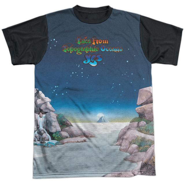 Yes Tee   TOPOGRAPHIC OCEANS Shirt