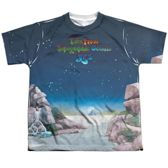 Yes Youth Shirt | TOPOGRAPHIC OCEANS Sublimated Tee