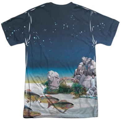 Yes Shirt | TOPOGRAPHIC OCEANS (FRONT/BACK PRINT) Tee