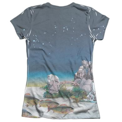 Yes Junior's Shirt | TOPOGRAPHIC OCEANS (FRONT/BACK PRINT) Junior's Tee