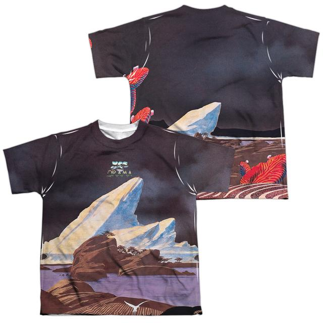 Yes Youth Shirt | DRAMA (FRONT/BACK PRINT) Sublimated Tee