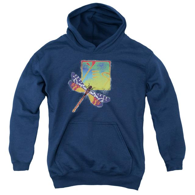 Yes Youth Hoodie | DRAGONFLY Pull-Over Sweatshirt