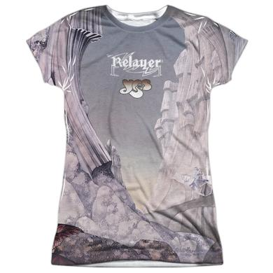 Yes Junior's T Shirt | RELAYERS SUB (FRONT/BACK PRINT) Sublimated Tee